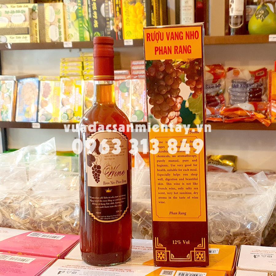 Rượu nho Phan Rang 12 độ