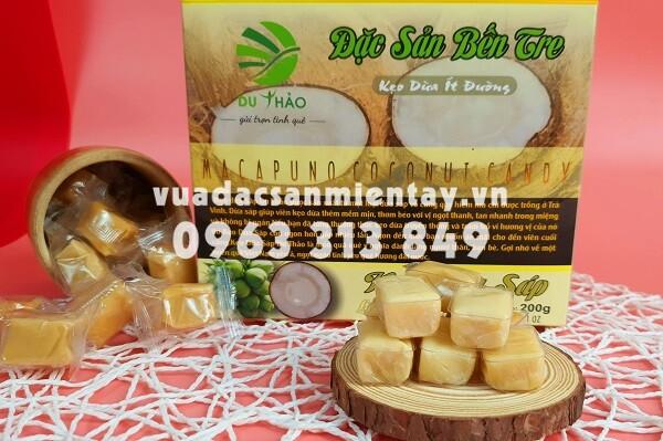đặc sản kẹo dừa sáp Bến Tre chính gốc