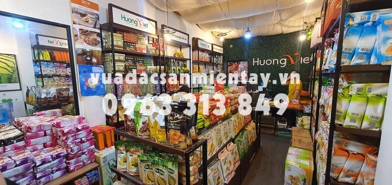 Cửa hàng Bánh pía Tân Huê Viên tại quận 1